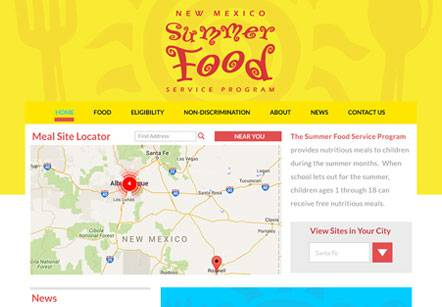 NM Summer Food Website Wins Silver Addy Award