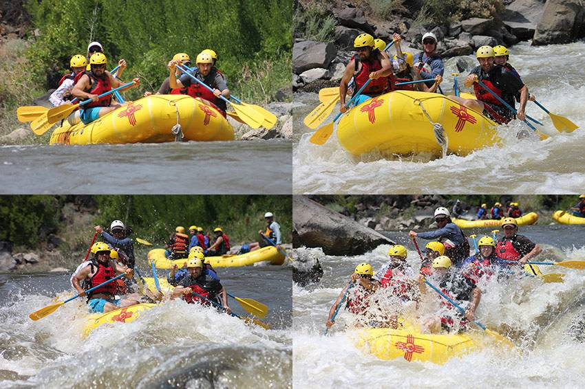 Xyngery Rafting the Taos Box