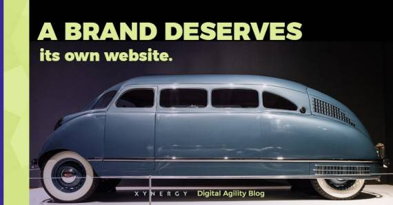 3 Reasons to Create Seperate Brands and Websites