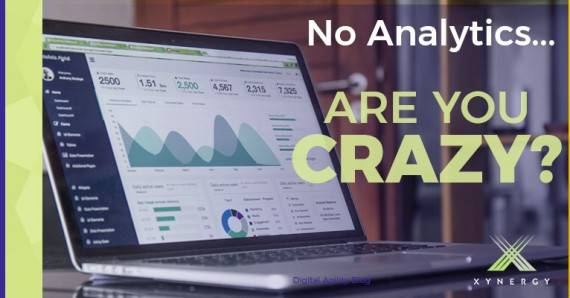 Analytics: If You Do Not Have Them You Are Crazy