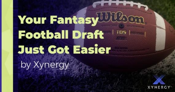 Your Fantasy Football Draft Just Got Easier