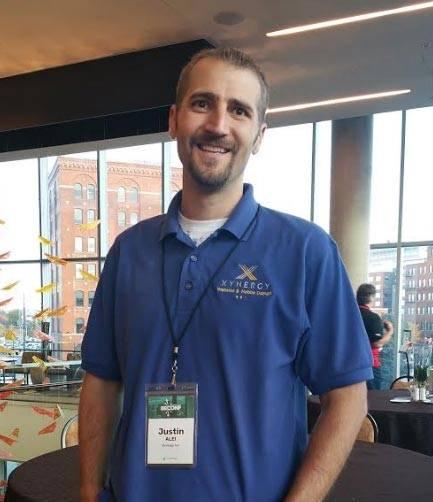 Justin at the EE Conference in Denver, CO, October 2017