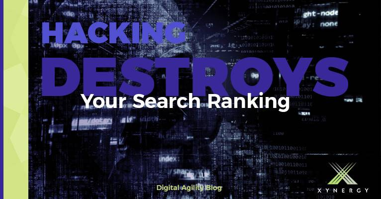 So many reasons you don't want to have your website hacked…now , SEO is another.