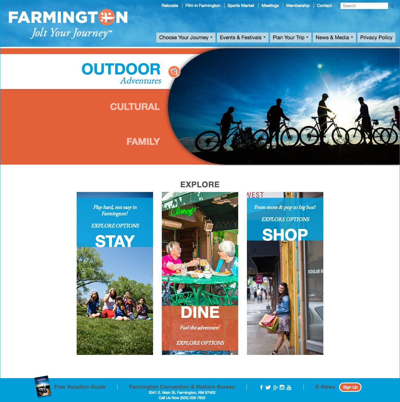 Farminton CVB Home Page