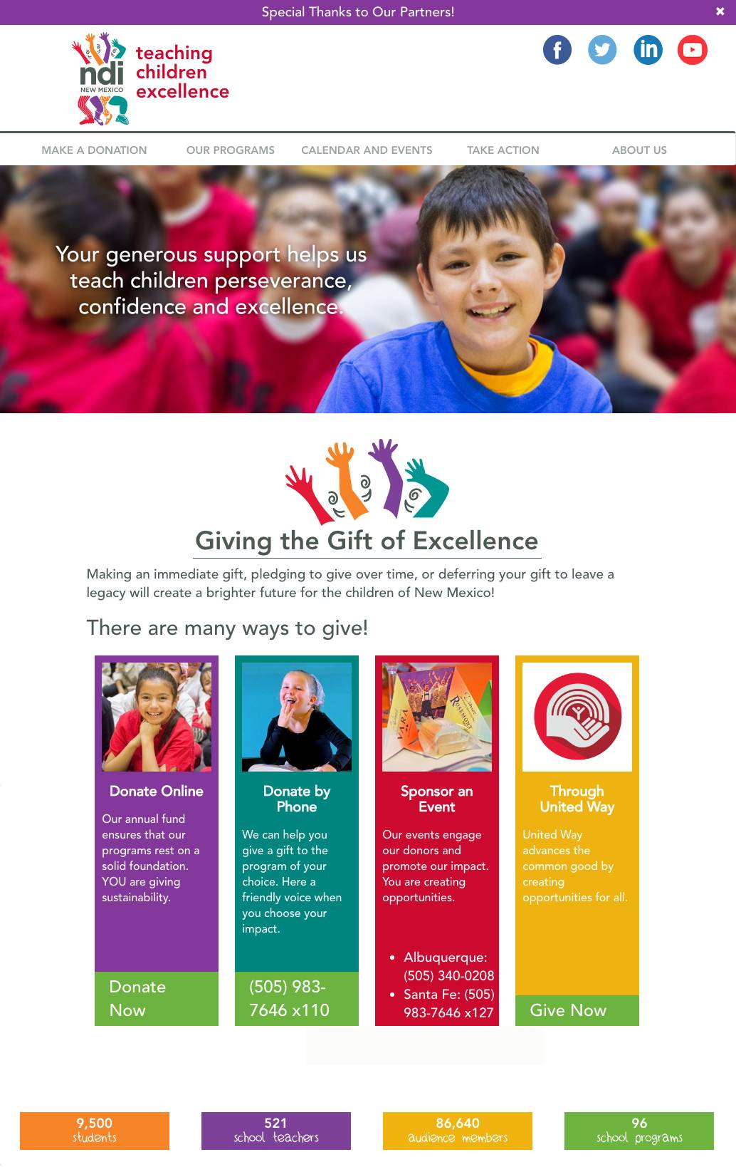 NDI Donation Page