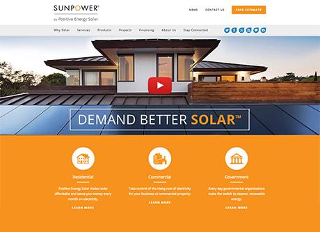SunPower Home Page