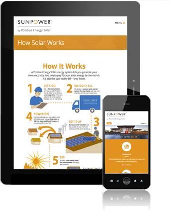 SunPower by Positive Energy Solar