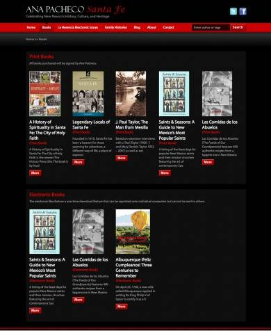 Books eCommerce Web Page