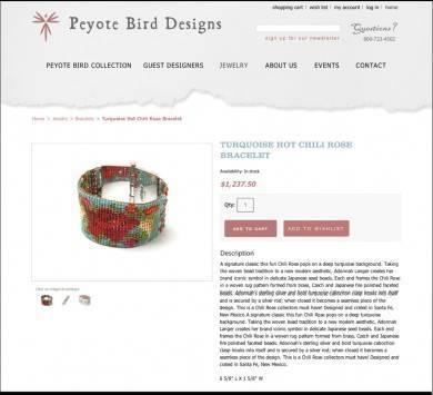 Peyote Bird Designs