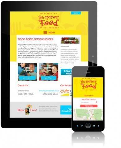 NM Summer Food Program App Mobile Versions