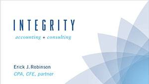Integrity Accounting Business Card