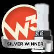 W3 Silver Award Winner