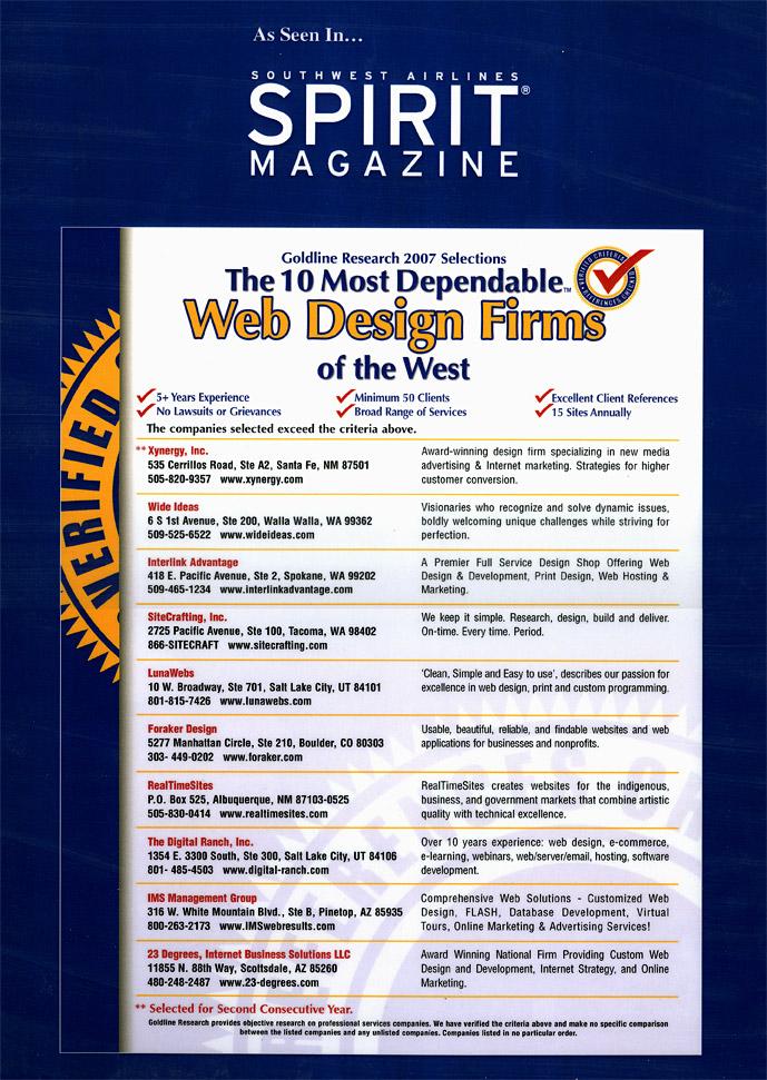 Inside Spirit Magazine